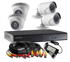 4 chanell cctv security installation lagos