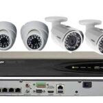 ip camera cctv kit with 4 ip cameras