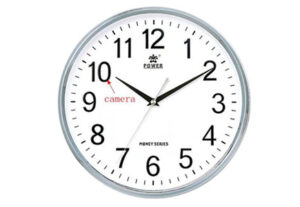 Wall Clock Wi-Fi Hidden Camera