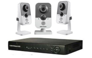 Buy CCTV security system kit with 3 wifi ip cameras at best price lagos