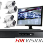 8 full hd security Hikvision CCTV surveillance system